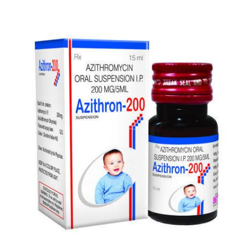 Azithromycin Allopathic Azithron 200 Mg Suspension, Rs 95.00 /bottle | ID:  12950032162