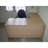 L Shaped Office Table at Rs 4500 /piece(s)
