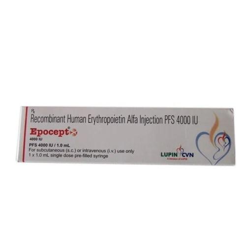 Recombinant Human Erythropoietin Alfa Injection at Rs 1400 ...