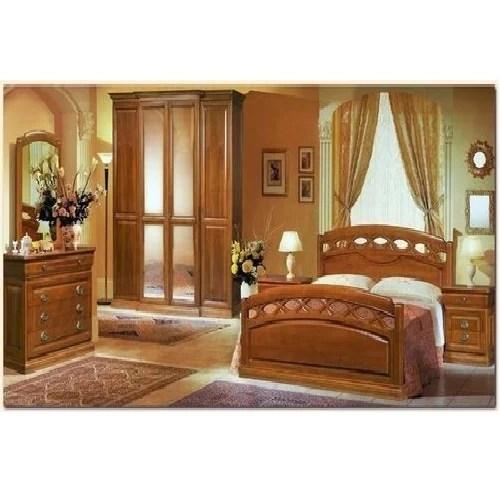 Teak Wood Bedroom Set at Rs 120000 set  Wooden Bedroom