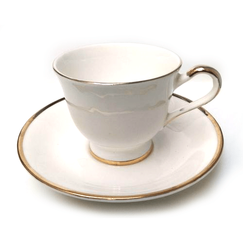 cup and plate tea