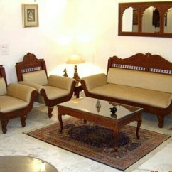 Wooden Sofa Sets Designs India Costco Leather Reclining 5 Seater Carved Set At Rs 180000 ट क स फ