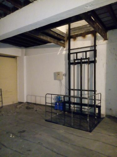 Industrial Lifts Hydraulic Cage Lift Manufacturer From