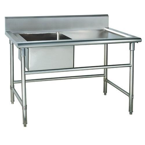 Stainless Steel Work Table Sink SS Table Sink  Lovely