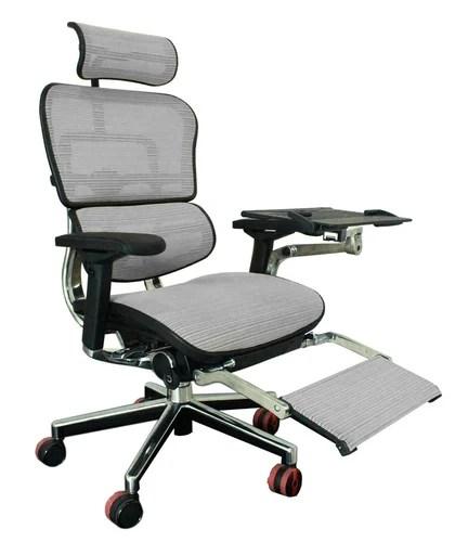 ergonomic chair with leg rest hanging loveseat chairs ergohuman plus luxury