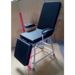 Chair With Leg Rest India Pier One Folding Chairs Blood Donor - Manufacturer From Delhi