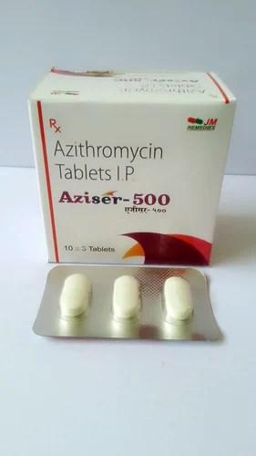 Aziser Azithromycin 500 Mg Medicine JM Healthcare ...