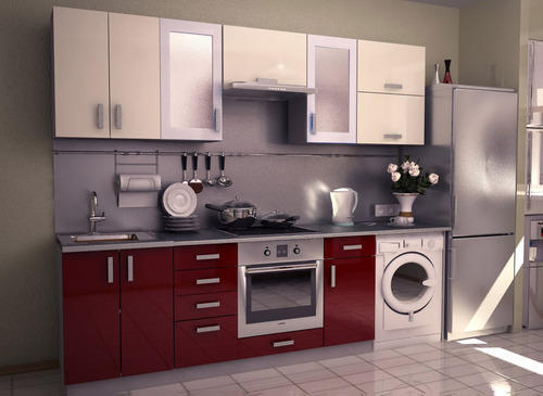 Single Wall Modular Complete Kitchen