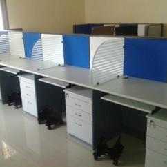 Steel Chair Price In Chennai Crate And Barrel Dining Cushions Modular Office Workstations - Call Center Table Manufacturer From Nashik