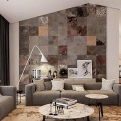 Wall Pictures Living Room Wood Surround Fireplace Tile At Rs 45 Square Feet S Slate Tiles Id