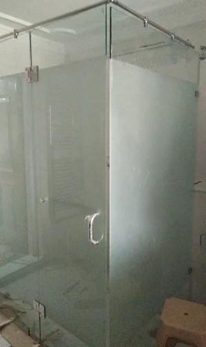 Tuffan Glass Bathroom Cabinets Glass Rs 235 Square Feet Aluminum Fabrication Id 20167408562