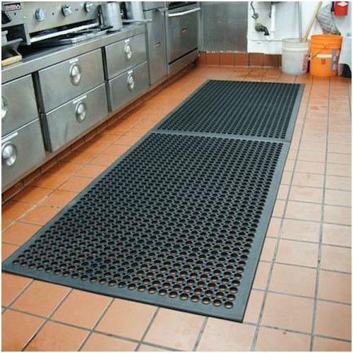 Black Kitchen Floor Mat Rs 220 piece Providence Rubbers