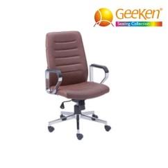Geeken Revolving Chair Bride And Groom Medium Back President Chairs Gurgaon Seating