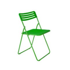 Folding Chair Green Iconic Leather Office Spacex And Foldable Rs 1390 Piece Furniture