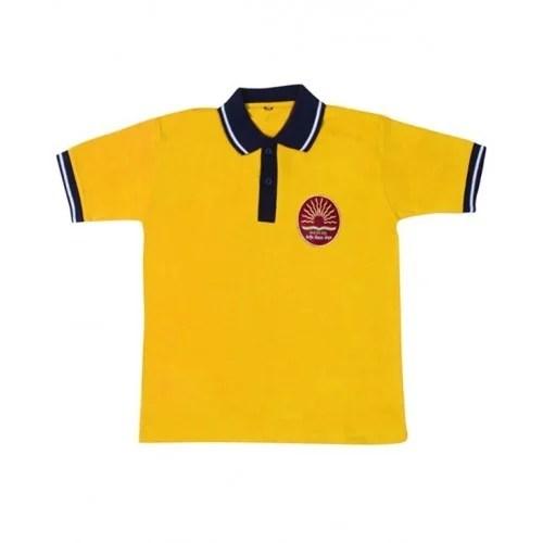 Both Yellow School Uniform T Shirt Rs 150 piece Klint
