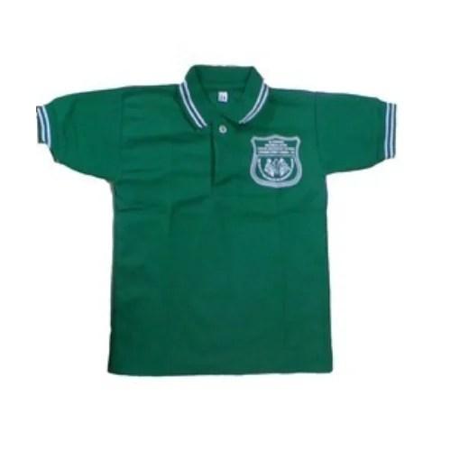 Green Cotton School T Shirt Rs 95 piece Usha Creations