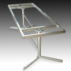 Stainless Steel Kitchen Table Metal Sink Cabinet Unit Dining Frame At Rs 3500 Piece S Company Details