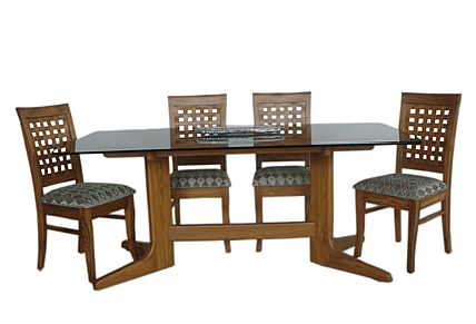 glass top kitchen table renovation cost teak wood dining room