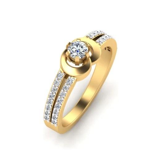 Beautiful Yellow Gold Engagement Rings
