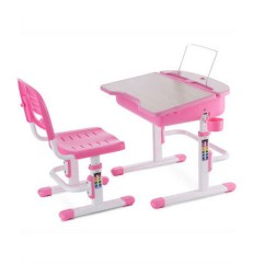 Study Table And Chair For Kids West Elm Office Pink With Size 73 X 59 40 5 Cm Id