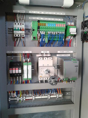 control cabinet wiring diagram
