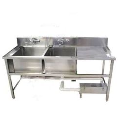 Commercial Kitchen Sink Wayfair Chairs Unit View Specifications Details Of