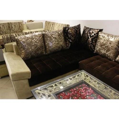 l shape sofa set designs in delhi bedroom bd designer at rs 37500 couch एल श प product image