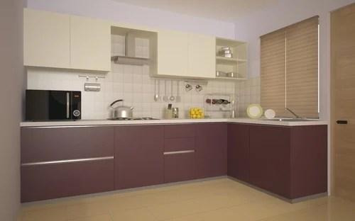 L Shaped Modular Kitchen Images