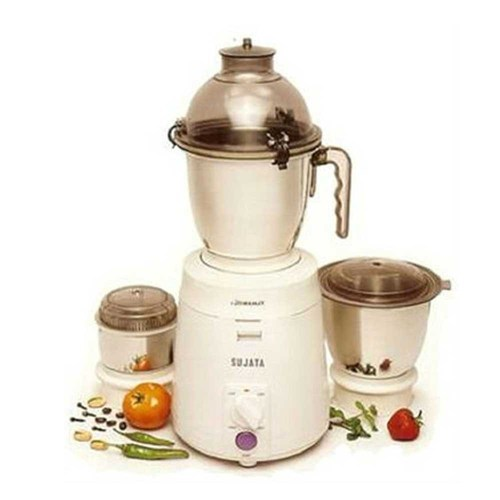 Sujata Powermatic Plus 900 Watts Juicer Mixer Grinder Demo