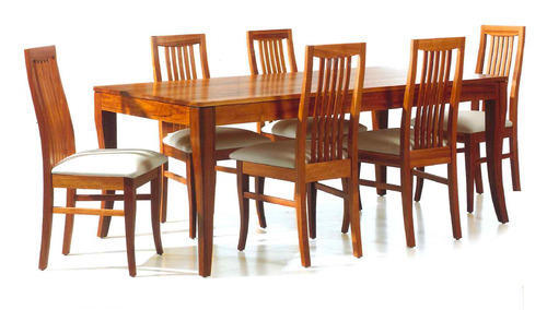 dinner table and chairs vintage potty chair wooden dining set at rs 15000 piece s