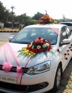 Indiamart also wedding car decoration services front side rh