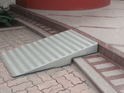 portable wheel chair ramp see through chairs step for disabled people - entrances manufacturer from mumbai