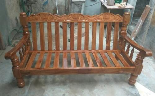 teak wood sofa set philippines how to clean seat covers brown rs 17500 piece sri saravana furniture