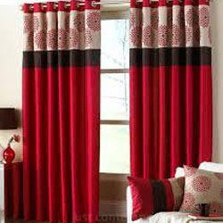 Designer Curtains  Embroidered Curtains Manufacturer from