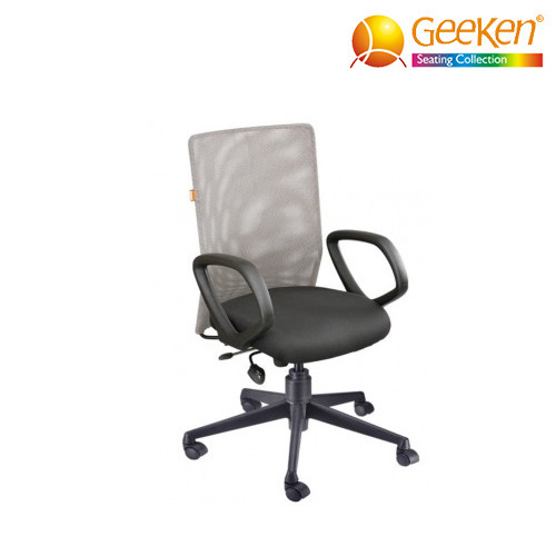 geeken revolving chair mat for carpet walmart medium back office commercial furniture seating