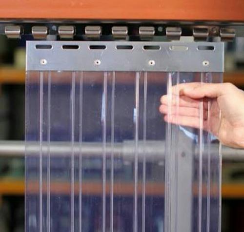 pvc strip curtain mounting brackets
