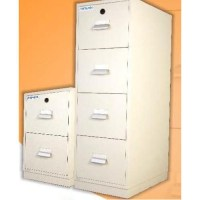 Fire Resistant 4 Drawer File Cabinet