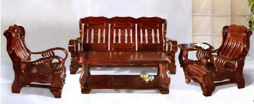 Pure Teak Wood Stylish Sofa Set