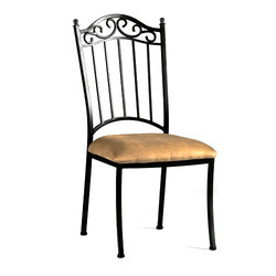 wrought iron dining chairs ford flex with captains chair at rs 1100 piece mishrit lohe ki khana