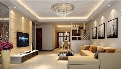 best living room wall colours rooms with brown sofa home ceiling design services in greater kailash, new delhi ...