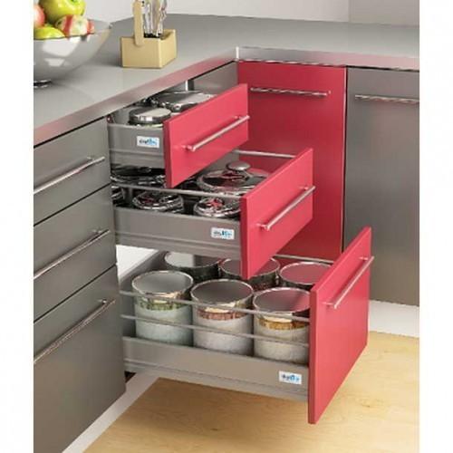 kitchen basket black hardware for cabinets modular baskets at rs 130 piece id