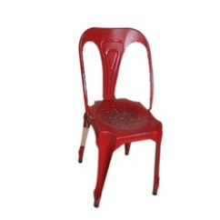 Iron Chair Price Strong Back And Wooden Chairs Canning Designer Manufacturer From Red