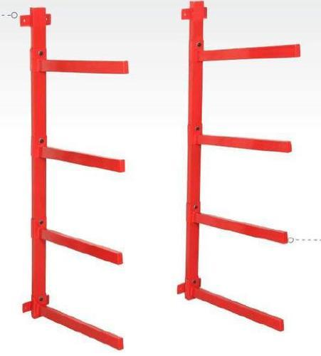 kaiser bumper storage rack with wall mounted wbs