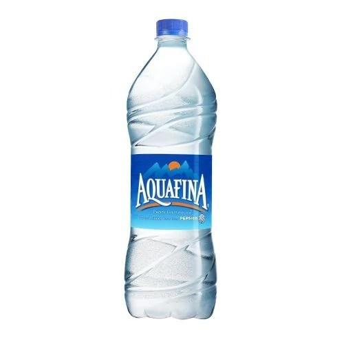aquafina bottle and bisleri