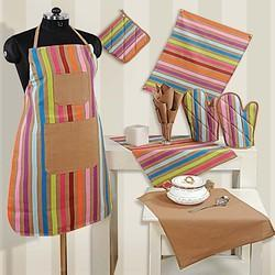 kitchen linens contemporary decor cotton linen sets at rs 1199 piece malviya nagar new