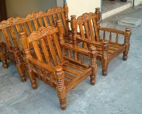 sofa set companies in india council steinhafels elephant leg teak set, टीक सोफा - ags furniture ...