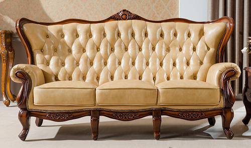 classic sofa solid wood frame sectional at rs 29999 pieces furniture id 12763763588