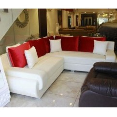 L Shape Sofa Set Designs In Delhi White Table With Drawers Stylish At Rs 32500 Couch एल श प