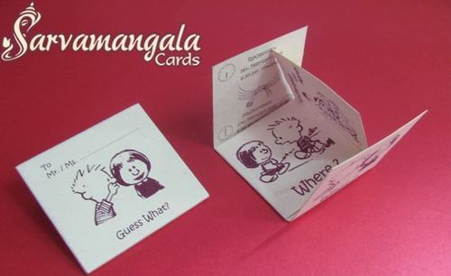 Handmade Invitation Card At Rs 25 Piece