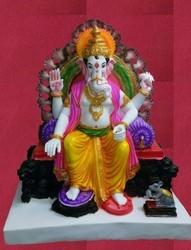 lalbaugcha raja ganesh statue